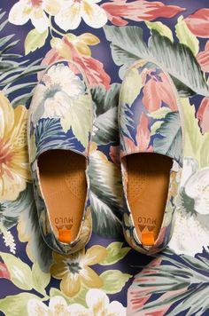 The Style Examiner: Hentsch Man x Mulo Hawaiian Print Shoe