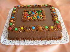 Cupcake Decorating Tips, Cake Decorating For Beginners, Birthday Cake Decorating, Homemade Birthday Cakes, Homemade Cakes, Oreo Cake Recipes, Novelty Cakes, Chocolate Treats, Diy Cake