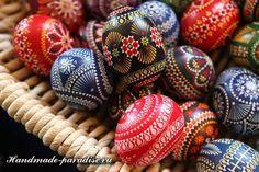 Роспись пасхальных яиц горячим воском - Handmade-Paradise