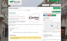 Nous venons d'ajouter une nouveauté sur la page des commerces sur Quiestouvert.com pour vous informer si l'établissement a définitivement fermé ses portes : http://www.quiestouvert.com/blog/articles/indication-sur-les-commerces-qui-sont-definitivement-ferme-113.html