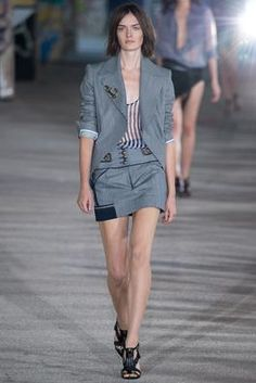 Anthony Vaccarello Spring 2015 Ready-to-Wear Fashion Show: Complete Collection - Style.com