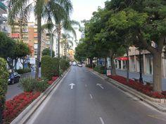 Spain. Marbella. Av. Ricardo Soriano.