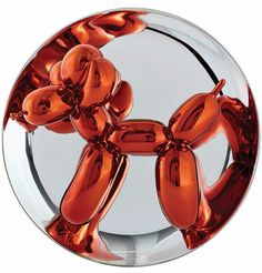 """Free worldwide shipping. Special Valentine's Day prices. These Jeff Koons limited edition Balloon Dog plates (Orange, Magenta and Yellow) are available @newarteditions Material: Porcelain, chrome coated Dimensions: 10 1/2"""" x 10 1/2"""" x 5"""" (26,7 x 26,7 x 12,7cm) Edition: 2,300 (each) Signed and numbered with certificate of authenticity (signature and edition number are fired onto the back of edition) ©Jeff Koons Produced by Bernardaud in Limoges, France"""