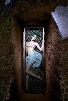 Naima: Cycle 4; Photo Shoot 7 - 7 Deadly Sins in a graveyard - ANTMworld