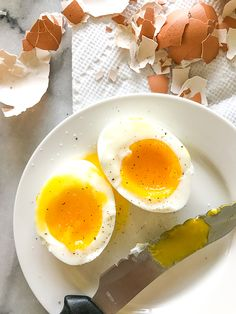 I've been using my Instant Pot to make eggs all weekend and finally got my soft boiled eggs and hard boiled eggs perfect. The best part is they were easy to peel, and the yolks were bright yellow. I don't think I'll be making them any other way!