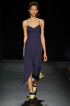 Rag and Bone SS16 - loving this model, she is everywhere!