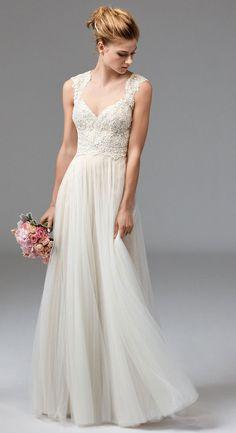 a3e36d88ed1 35 Beach Wedding Dresses You ll Love