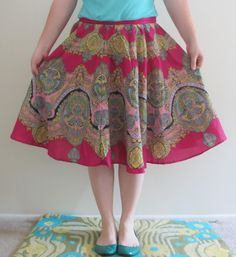 Twirly Circle Skirts
