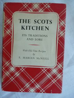English Cook Book  Scottish Cook Book  Vintage by thekingsmistress, $18.00
