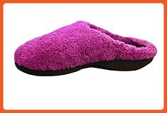 Isotoner Women's Fuzzy Comfortsoft Connie Clog Slipper, 7.5-8 Tickled Pink - Slippers for women (*Amazon Partner-Link)