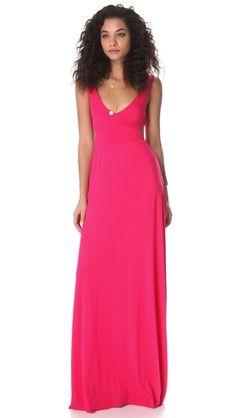 Rachel Pally Cutout Maxi Dress Hot Pink Dresses 43068e640