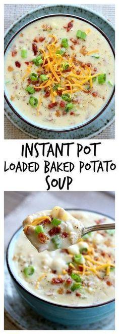 Crock Pot Recipes, Healthy Soup Recipes, Slow Cooker Recipes, Cooking Recipes, Cooking Tips, Potato Recipes, Chicken Recipes, Instapot Soup Recipes, Easy Recipes