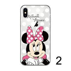 Disney Mickey Soft Clear iPhone 5 5S SE 6 6S 6Plus 7 7Plus 8 8Plus X Phone Case