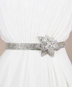 Stunning diamond belt.
