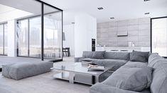 Inspiring Minimalist Interiors With Low-Profile Furniture