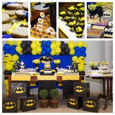 Batman Party / Kara's Party Ideas