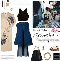 21st Century Geisha by mirela-k on Polyvore featuring mode, River Island, Dorothy Perkins, Ashish, Marni, NARS Cosmetics, Bobbi Brown Cosmetics, Chloé and CÉLINE