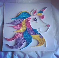 Unicorn art unicorn gifts rainbow unicorn frame gifts