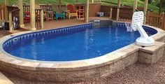 12x17 Sharkline Extruder Semi Inground Pool Brothers 3 Pools Aboveground Semi Inground
