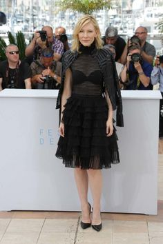 Cannes 2015 Cate Blanchett in Alexander McQueen