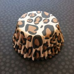 Leopard Print Cupcake Liners from A Pretty Little Party
