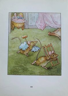 1950's Vintage 'The Tale Of Two Bad Mice' | Etsy