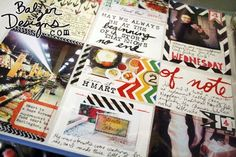"""that quote in the middle, top row - awesome.  """"May we always be at the beginning of a story that knows no end."""""""