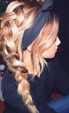 Braid with headband #gorgeoushair