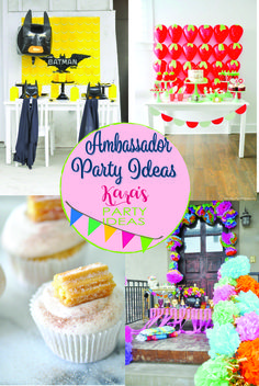See the collection of parties styled by Kara Allen of Kara's Party Ideas right here!  #brandambassador #ad