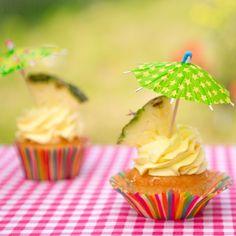 Recept: Piña colada cupcakes - Cupcakes - Recepten   Deleukstetaartenshop.nl