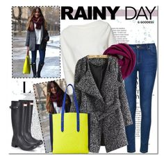 """""""Rainy Day"""" by gabbyramosbr ❤ liked on Polyvore featuring Ally Fashion, Halogen, Hunter, Être Cécile, contestentry, polyvoreeditorial, polyvorecontest and rainydaystyle"""