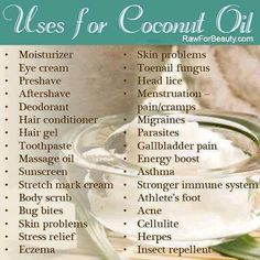 coconut oil, use & love