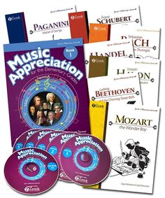 music appreciation collection Homeschool Music Curriculum on the Beat $169