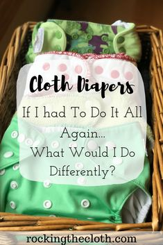 cloth diapers After cloth diapering for five and a half years, I have a pretty good routine down. However, there are definitely a few changes I would make if I ever had another baby! Here is what I would change based on my experience. Cloth Diaper Pail, Best Cloth Diapers, Diy Diapers, Reusable Diapers, Newborn Diapers, Cloth Nappies, Cloth Diaper Storage, Cloth Diaper Detergent, Cloth Diaper Inserts