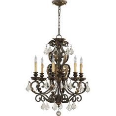 Buy the Quorum International Toasted Sienna With Mystic Silver Direct. Shop for the Quorum International Toasted Sienna With Mystic Silver Rio Salado 6 Light 1 Tier Chandelier and save. Silver Chandelier, Globe Chandelier, Chandelier Shades, Lantern Pendant, Chandelier Lighting, Transitional Chandeliers, Candelabra Bulbs, Ceiling Lights, Ceiling Fans