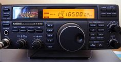 Yaesu - This is the HF rig I use Capital Ship, Ham Radio, Specs, Digital, Pictures, Photos, Photo Illustration, Resim