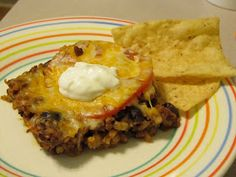 Becoming Betty: Mexican Rice Casserole