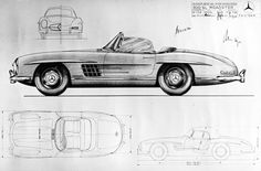 Classic German supercars: Celebrating 60 years of Mercedes 3000 SL Roadster #thatdope #sneakers #luxury #dope #fashion #trending