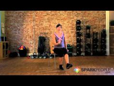 11-Minute Chair Cardio Workout Video