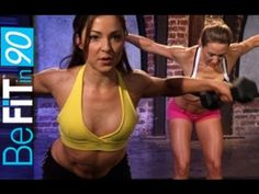 BeFit in 90 Transform Your Body w/ these free YouTube workout videos