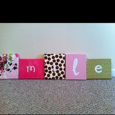 SMILE canvases
