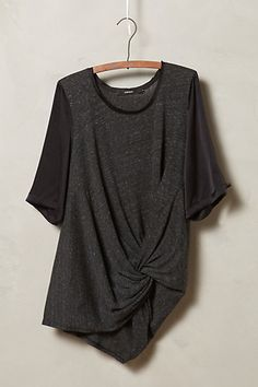 Twist-Front Tee #anthrofave