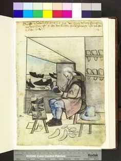 Amb. 317.2° Folio 154 recto Mendel Hausbuch Nürnberg  Ulrich Fürnpach Died 1535