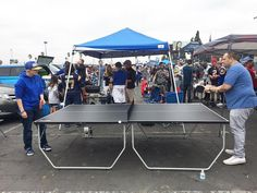 #Rams Fans in an intense game of ping pong before the big game! Thanks @iamstefz  #SuperTailgate #tailgate #tailgating #win #letsgo #gameday #travel #adventure #stadium #party #sport #ESPN #jersey #sports #league #SportsNews #score #photooftheday #love #football #nfl