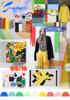 FASHION VIGNETTE: TRENDS // MIRELLA BRUNO - PRINT/GRAPHIC/COLOR INSPIRATIONS . SS 2016