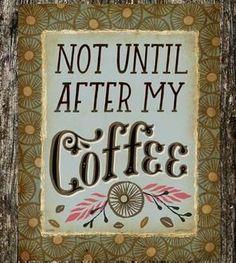 Cute Coffee Print