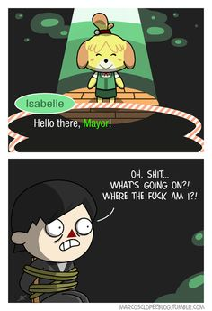 gaming animal crossing comics Isabelle new leaf acnl