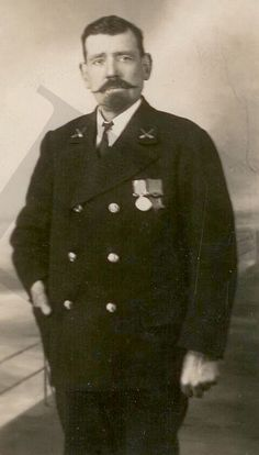 Henry Joseph Bailey Titanic Master At Arms who commanded lifeboat 16. One of two men in the role of ship''s disciplinarian, but the sole survivor of the pair.