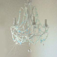 Araña de cristal playa Cottage Chic por CoastalRadianceLites