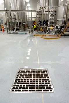 Allproof Industries Commercial Kitchen and Food Prep Areas Drainage solutions. CD Sump.